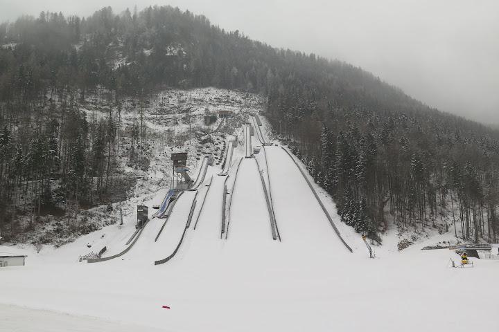 In der Chiemgau Arena befinden sich auch Skisprungschanzen