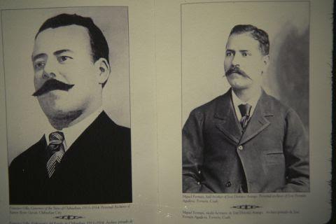 F.Villa y su supuesto medio hermano Miguel Fermán