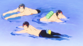 Free! - Iwatobi Swim Club Episode 5 Screenshot 2