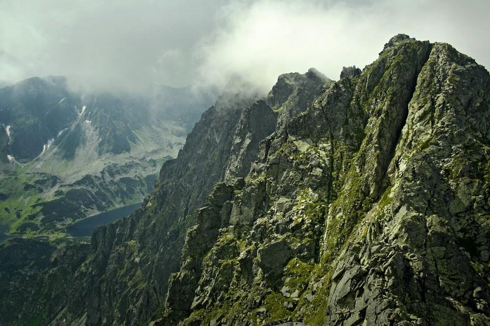 Widok ze Skrajnego Granata