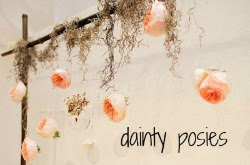 Grab button for Dainty- Posies
