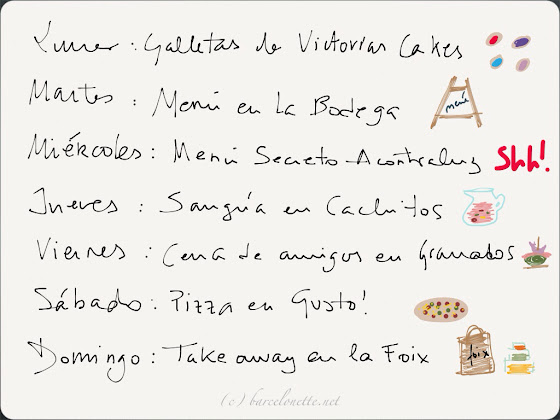 Planes para hacer en Barcelona, restaurantes, barcelonette