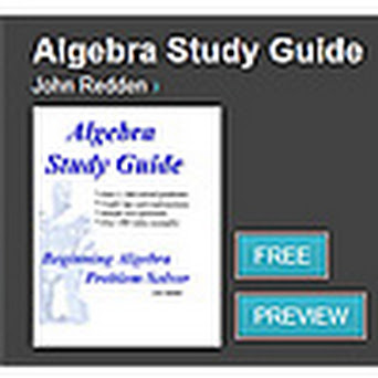 """Algebra Study Guide"" icon"