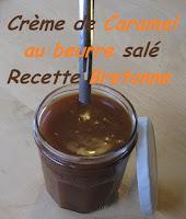 Crème de caramel au beurre salé - recette indexée dans les Divers