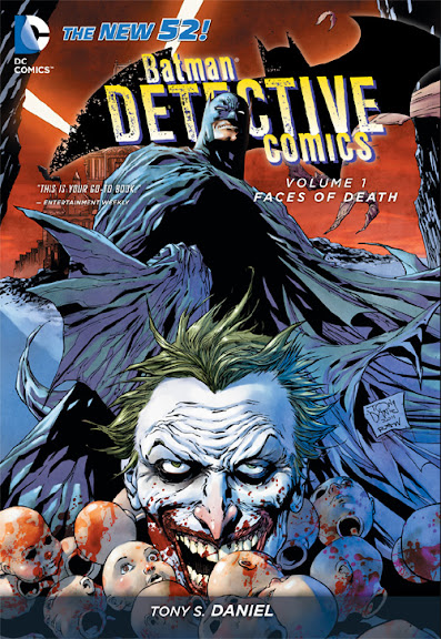 Batman: Detective Comics, v. 1: Faces of Death cover