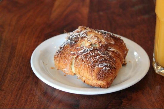 The frangipane croissant from Tartine. Absolutely amazing.