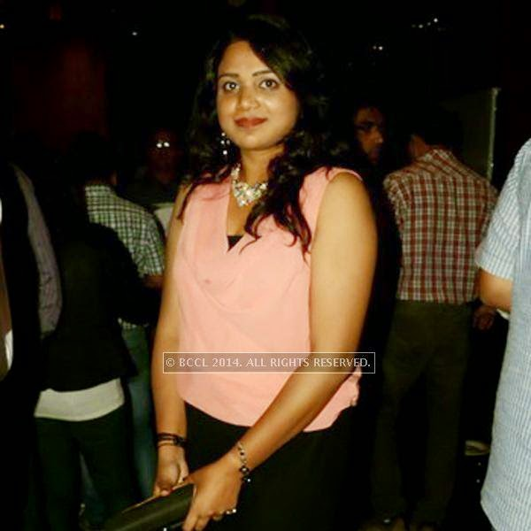 Priyanka during the SS Group launch party, held at Taj Vivanta, in Gurgaon.