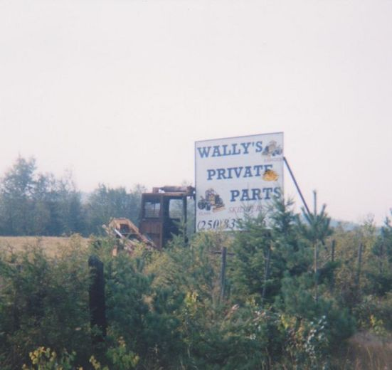 Wally's Private Parts