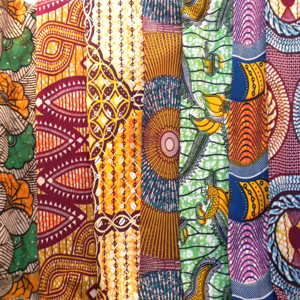Ghanaian Wax Print Textiles