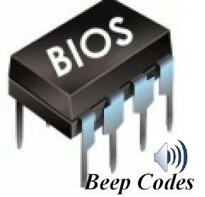 Mengetahui error komputer dari kode beep