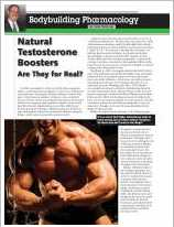 APPLIED ERGOGENICS: Natural Testosterone Boosters By Jerry Brainum