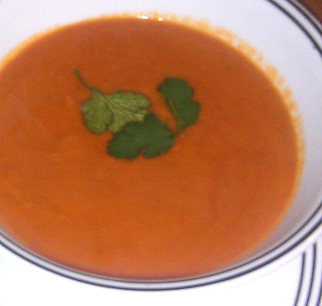 West African Tomato-Peanut Soup