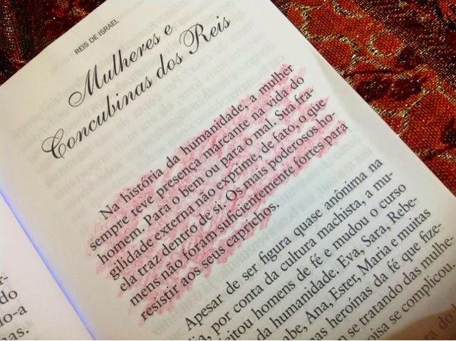 Mulher: presença marcante na vida de um homem - para o bem ou para o mal.