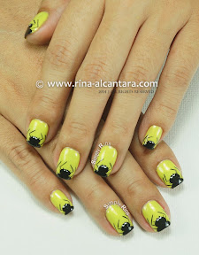 Itsy Bitsy and Hairy Spiders Nail Art by Simply Rins