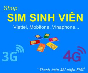 Shop SIM Sinh Viên - SIM 3G/4G nhiều ưu đãi!