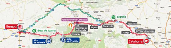 La Vuelta 2013. Etapa 17. Calahorra - Burgos. @ Unipublic