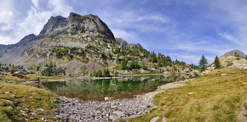 Traversée des Alpes, du lac Léman à la Méditerranée Gr5-briancon-mediterranee-lac-trecolpas-panorama