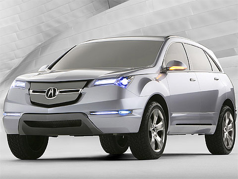Motor Trend: 2006 ACURA MD-X Concept