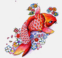 Koi Fish Tattoo Drawing 6