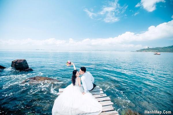 thơ đôi tình nhân bên Biển