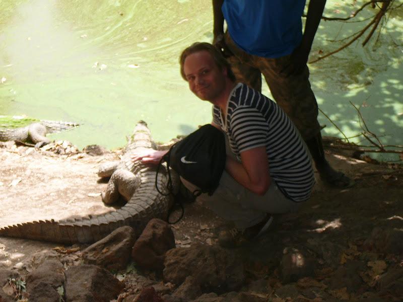 Kachikally Krokodillen Pool in Bakau