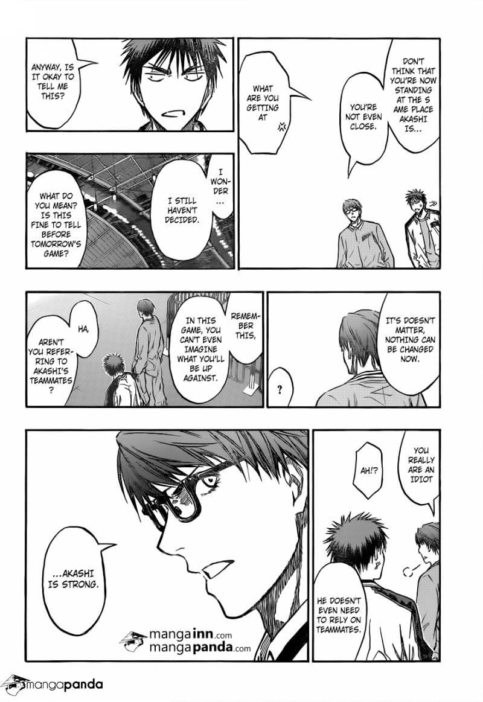 Kuroko no Basket Manga Chapter 203 - Image 18