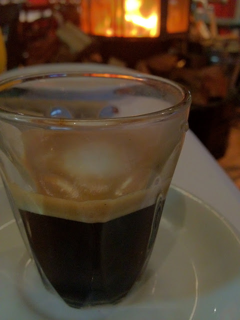 how to make a long machiatto coffee