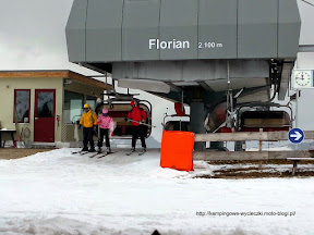 na zdjęciu wyciąg Florian w regionie Alpe di Siusi