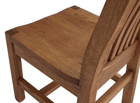 Phoenix Dining Chair in Medium Oak