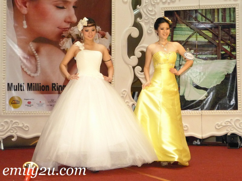 multi million Ringgit bridal wear fashion show