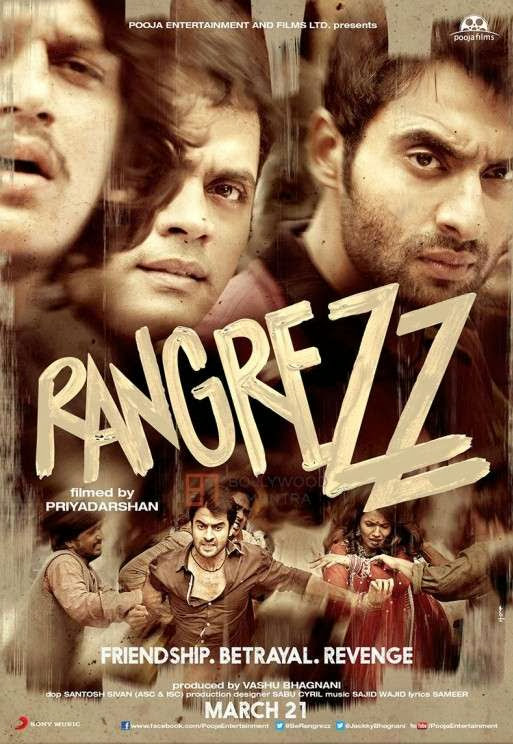 Poster Of Hindi Movie Rangrezz (2013) Free Download Full New Hindi Movie Watch Online At Alldownloads4u.Com