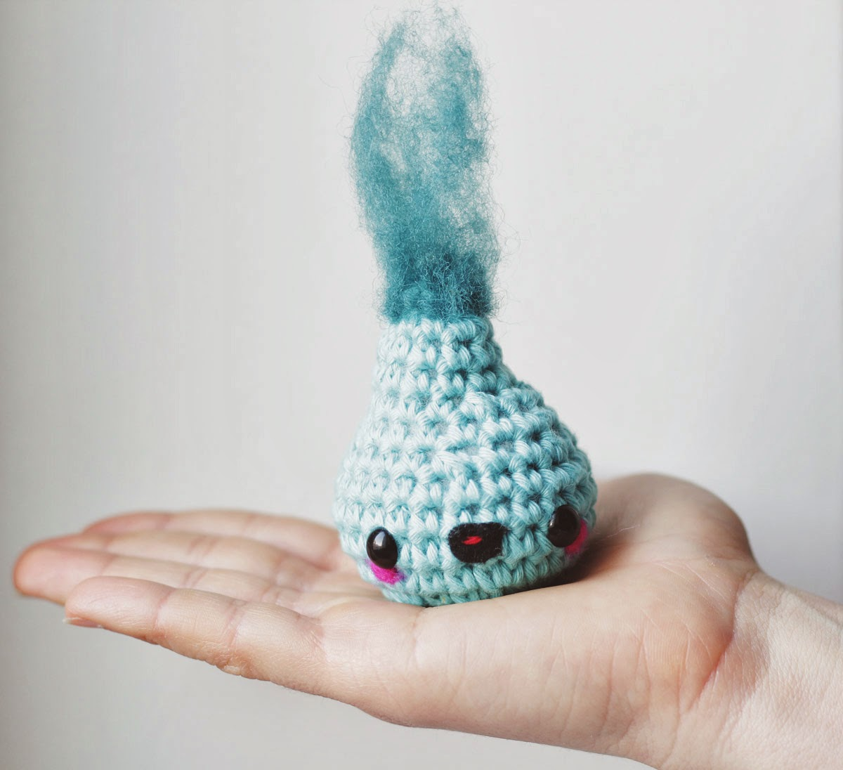 Amigurumi water drop spirit free pattern