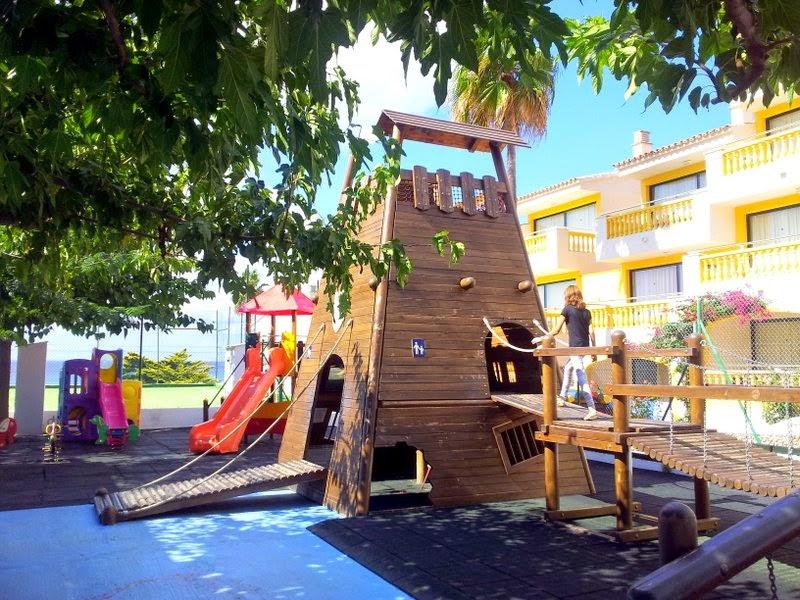 Parque infantil del hotel