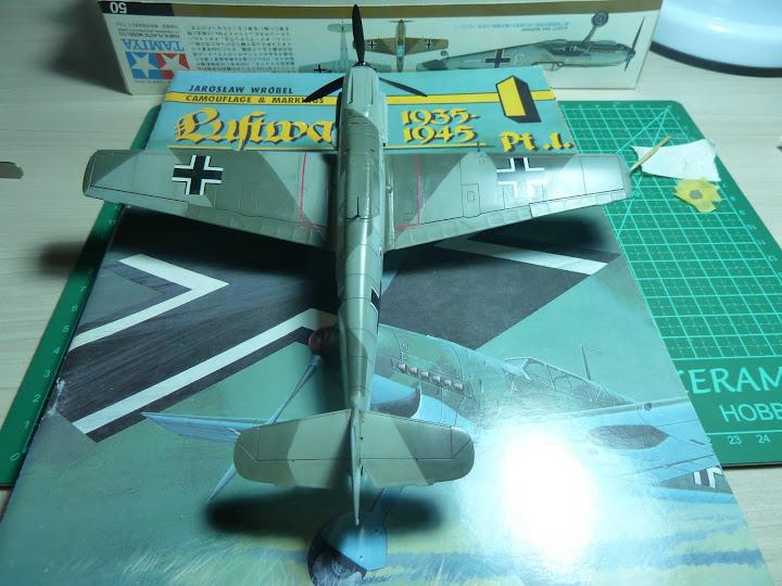 Bf-109 E-3 Tamiya 1/48 - Reforma pintura P1020566