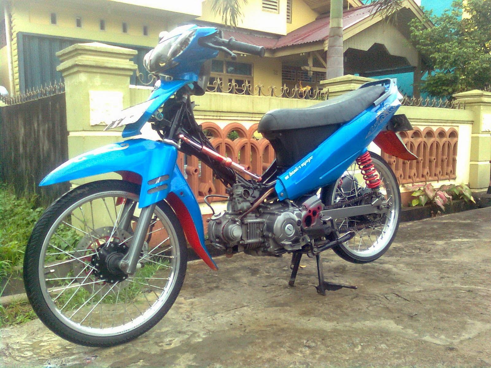 Motor Vega r Modifikasi Road Race Modifikasi Vega r Ala Road