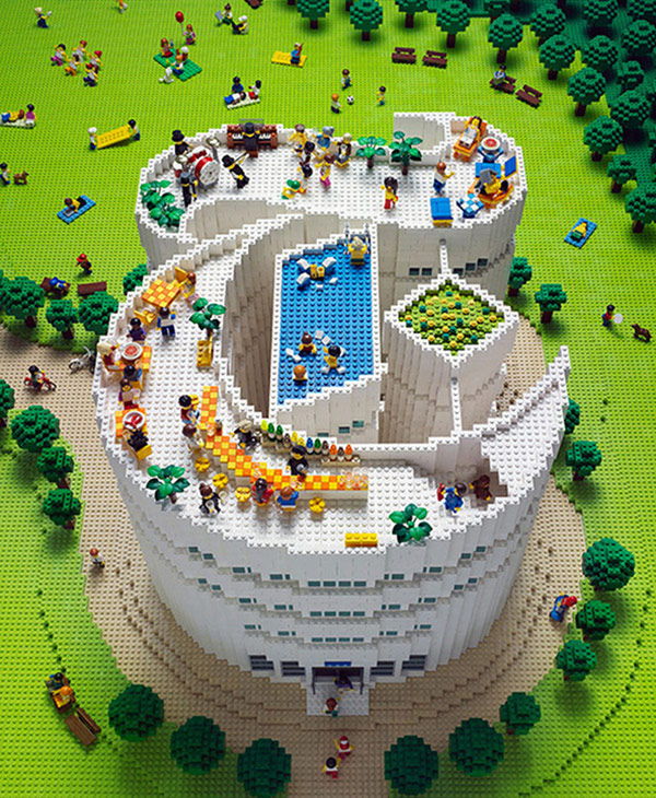 New York Times Magazine Lego Cover