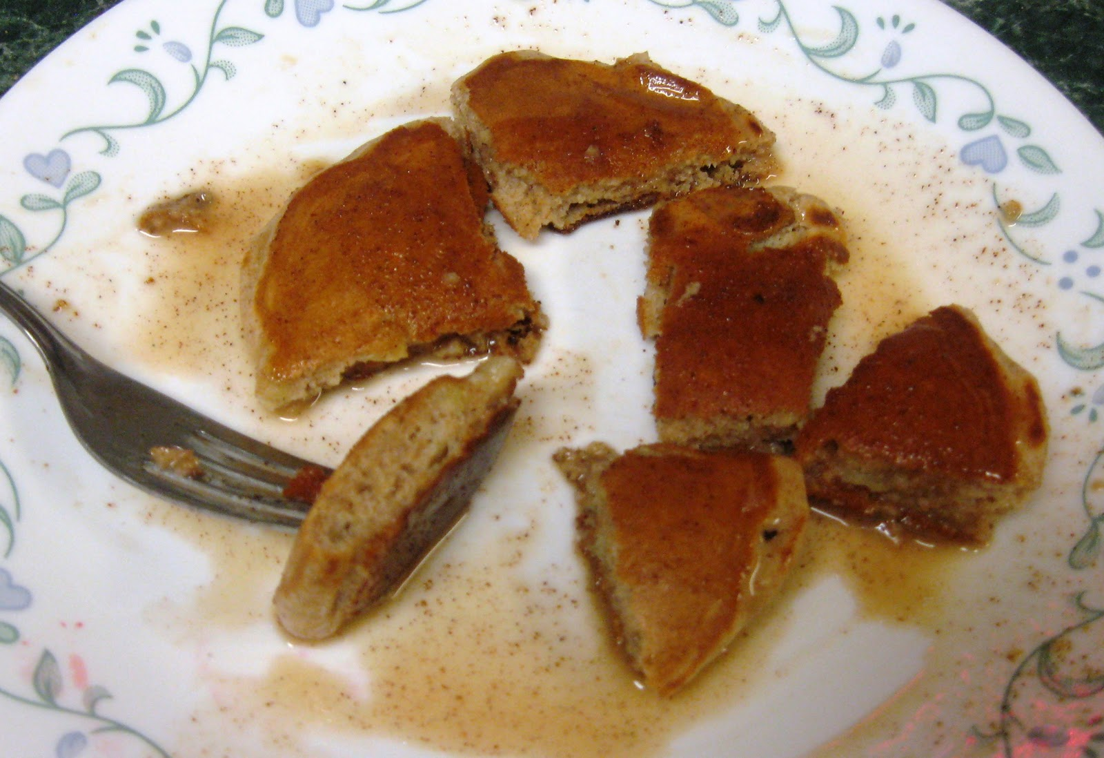 ... Healthy & Low Calorie: Apple Cinnamon Pancakes with Cinnamon Syrup