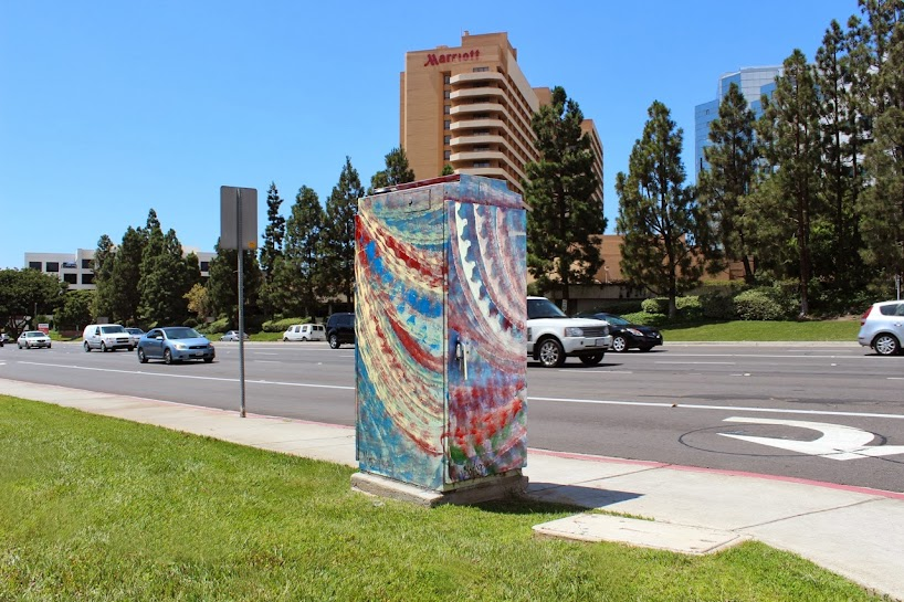 Victor Angelo Public Art Painting Golden Triangle University City