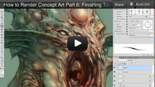 [VIDEO] How to Render Concept Art Part 6: Finishing Touches