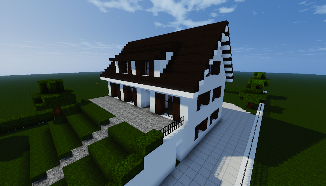 Galerie plans de maisons pour minecraft edit plans list s en 1 re page - Belle construction minecraft tuto ...