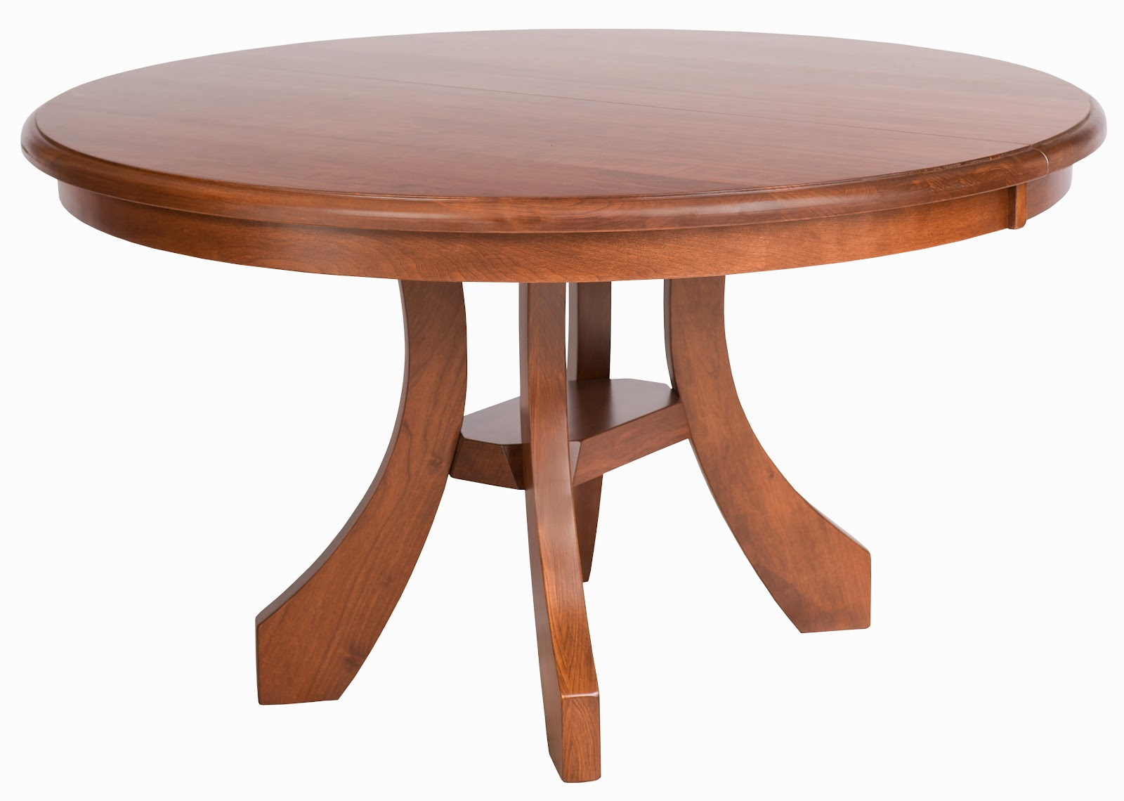 "54"" x 30"" Rio Round Dining Table in Cascadia Cherry"