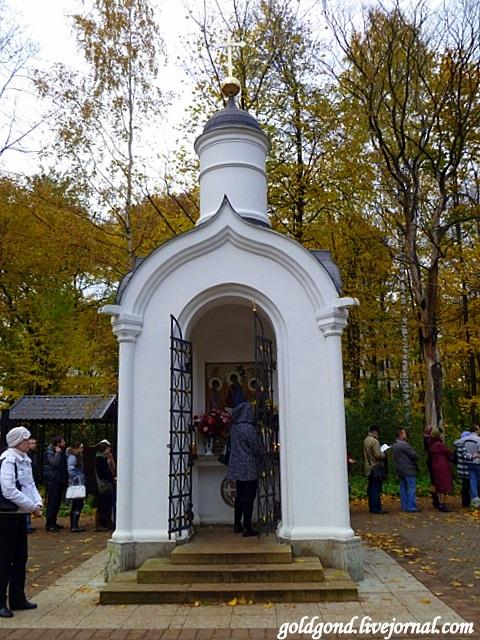 Часовня на месте храма во имя Святой Живоначальной Троицы