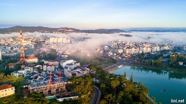 thành phố Đà Lạt tuyệt đẹp của ngày nay