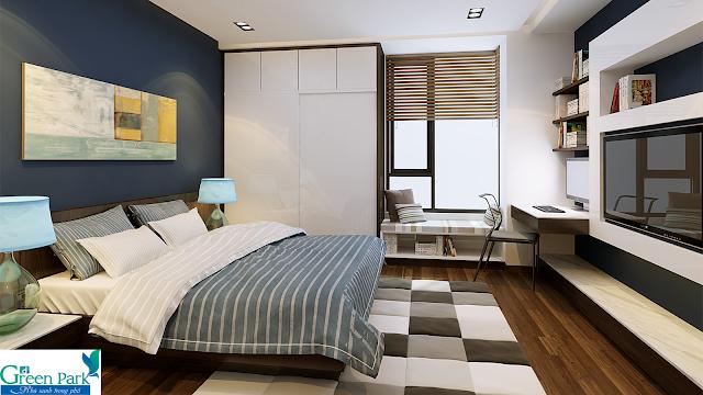 Phòng ngủ dự án Phương Đông Green Park