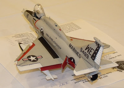 USMC A-4 Skyhawk kit - VMA-211 Black Sheep squadron