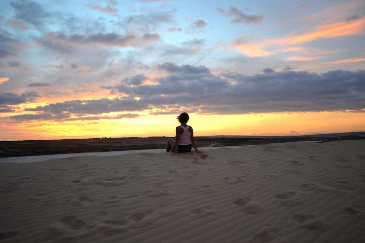 Закат на дюнах
