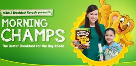 Nestle' Breakfast cereal: Morning Champ
