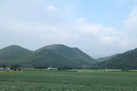 JR北海道 「リバイバルまりも」 車窓 富良野付近