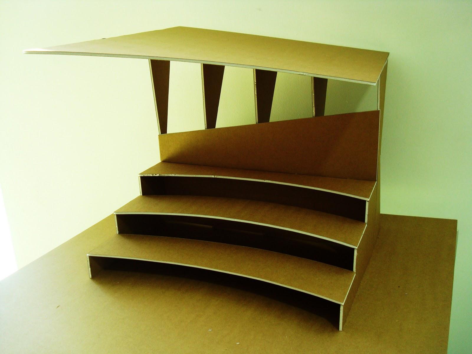 Portafolio arquitectura fundamentos del dise o i for Como hacer gradas