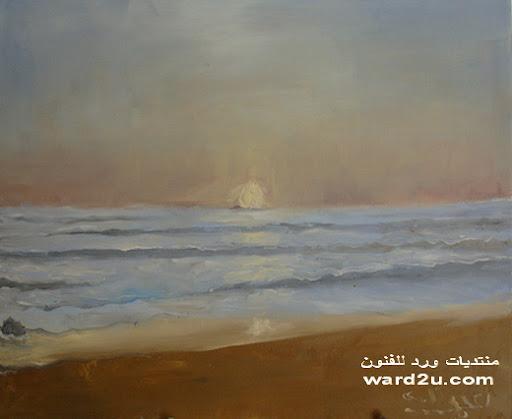 مشاهدات من سوريا بلدي لوحات زيتيه من اعمالي